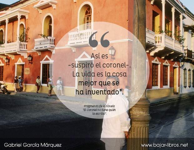 frases literarias de Gabo
