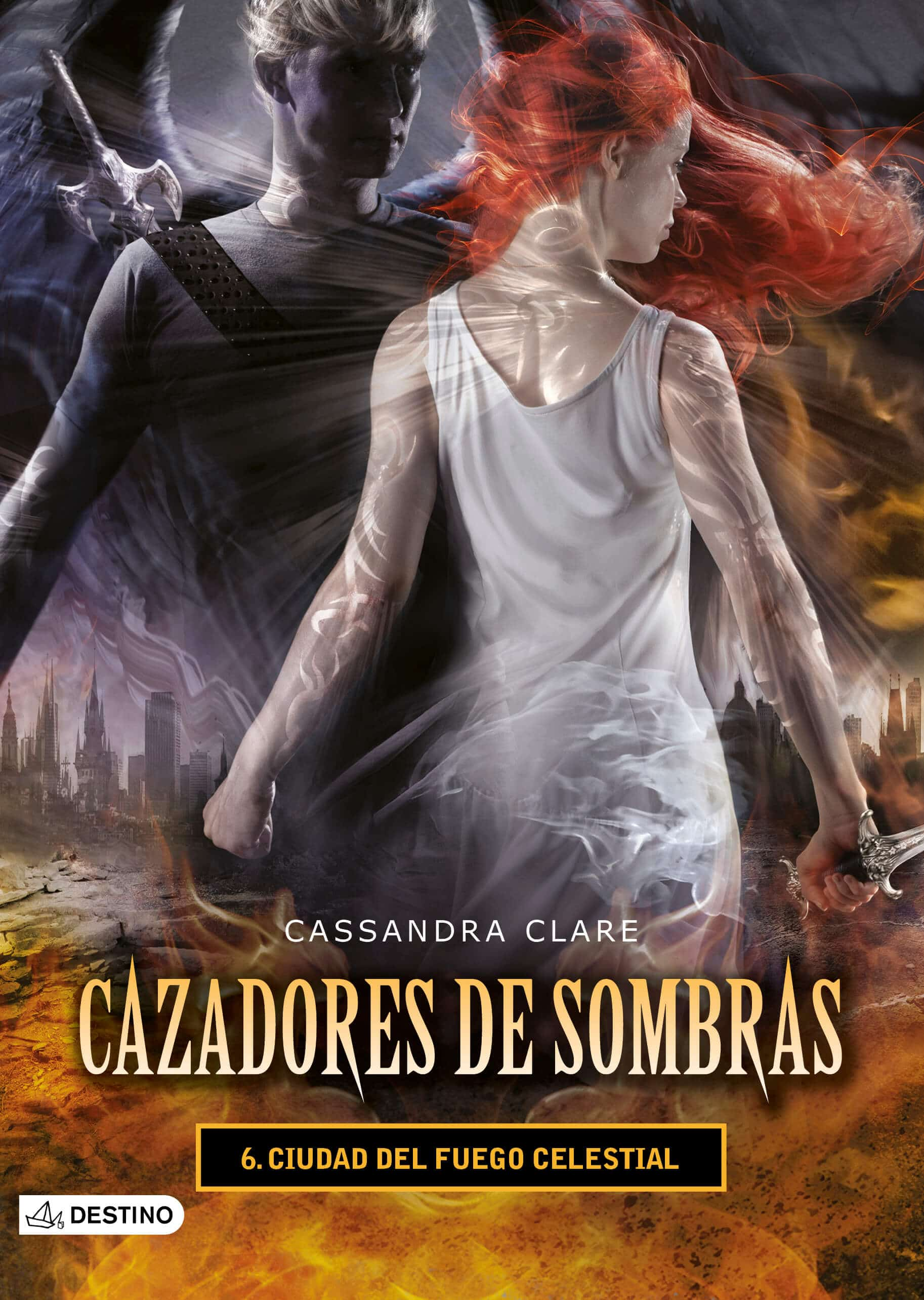 libro cazadores de sombras ciudad del fuego celestial pdf