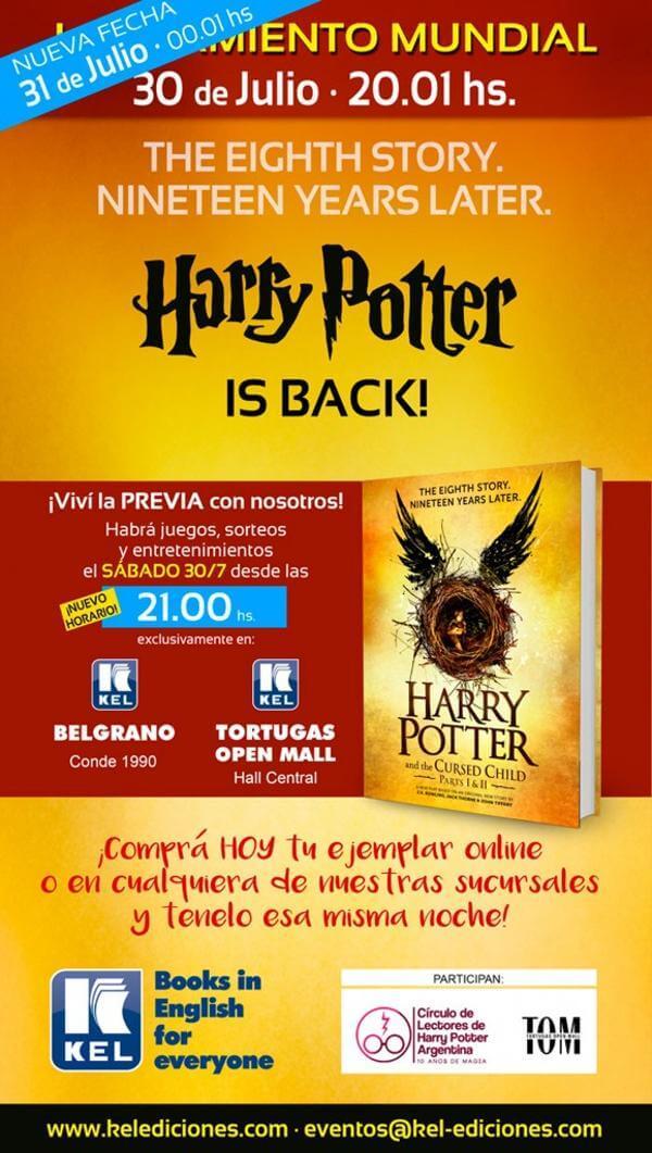 Potter is back